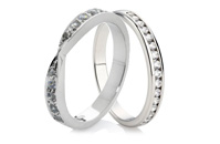 Palladium Eternity Rings