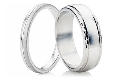 Decorative Silver Rings