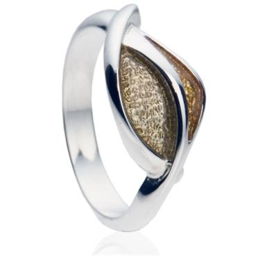Teardrop Enamel Ring