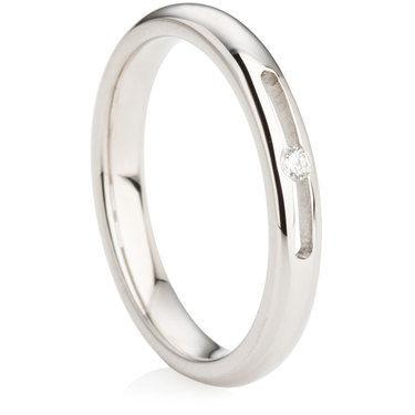 3mm Brilliant Cut Diamond Ring