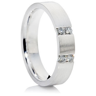 Brilliant Cut Diamond Wedding Ring.