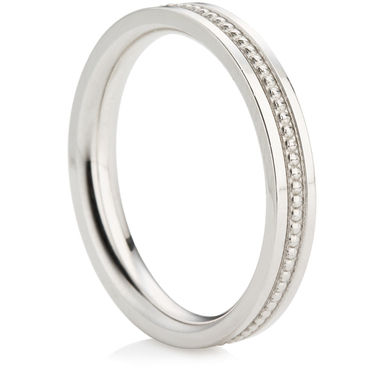 Decorative Wedding Ring (3mm)