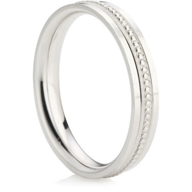 Decorative Wedding Ring (3.5mm)