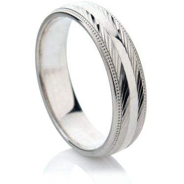 Amado Finish Decorative Wedding RIng