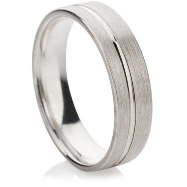 Pulso Finished Decorative Wedding Ring