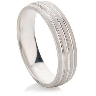 Foveo Finished Decorative Wedding Ring