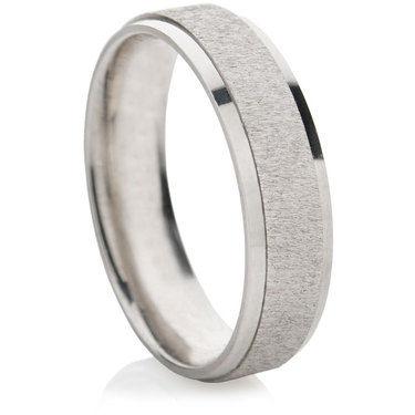 Dilectio Finished Decorative Wedding Ring