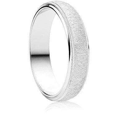 Attrarre Finish Wedding Ring
