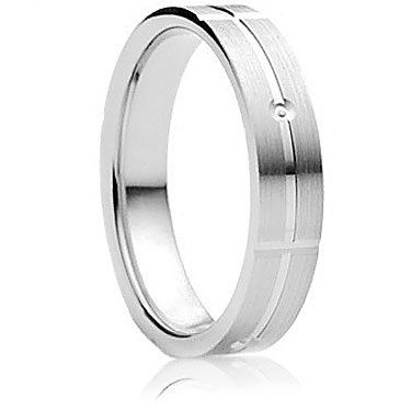 Carino finish wedding ring