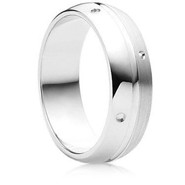 Lumiere Finish Wedding Ring