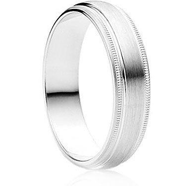 Siempre Finish Wedding Ring