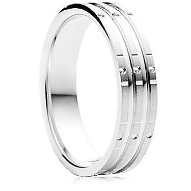 Stelle Finish Wedding Ring