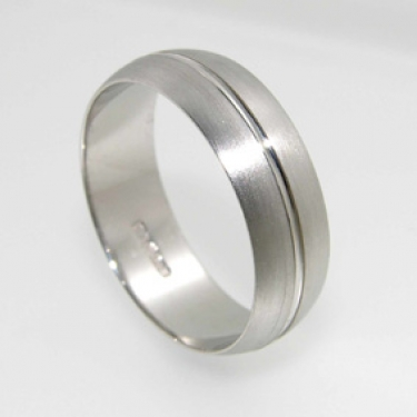 RJ043 finish wedding ring