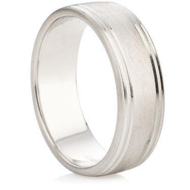 RJ173 finish Wedding Ring