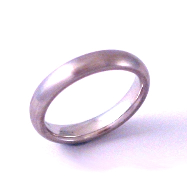 Satin Finish Wedding Ring