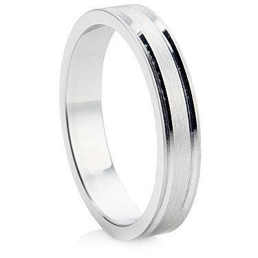 B10 Finish Wedding Ring