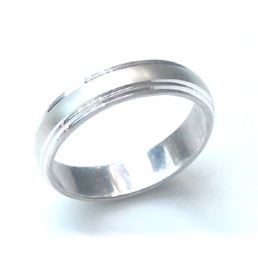 B21 Finish Wedding Ring