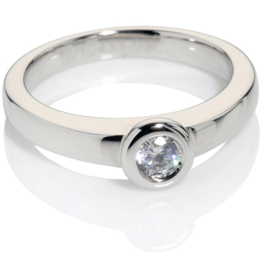 Diamond Solitaire Engagement Ring 0.25ct