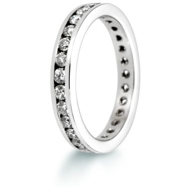 3mm Brilliant Cut Eternity Ring