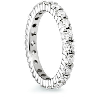 3mm Brilliant Cut Full Eternity Ring