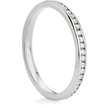 Brilliant Cut Diamond Full Eternity Ring