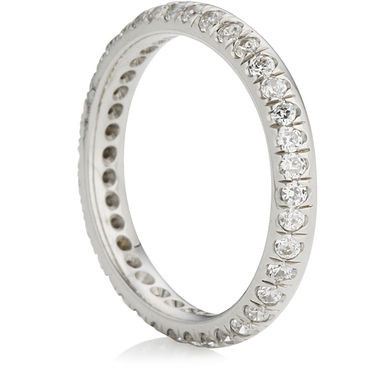 Eternity Ring with Brilliant Cut Diamonds