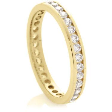 Brilliant Cut Full Eternity Rings