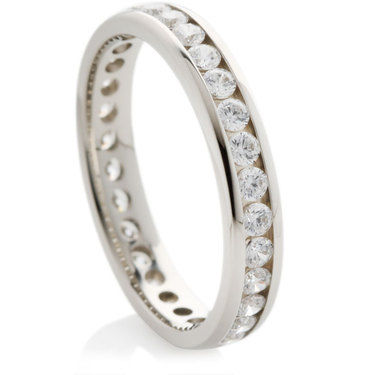 Brilliant Cut Full Eternity Rings