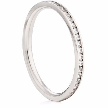 1.5mm Brilliant Cut Channel Set Full Eternity Ring