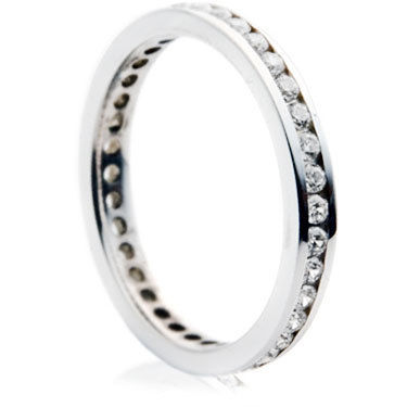Brilliant Cut Channel Set Full Eternity Ring