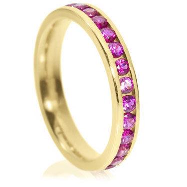 3mm Brilliant Cut Channel full Eternity Ring