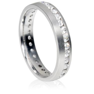 4mm Eternity Ring - Brilliant Cut