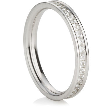 Princess Cut Full Eternity Ring