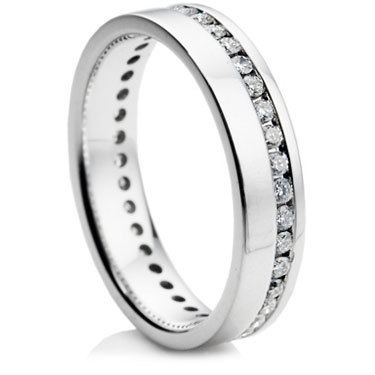 4mm Brilliant Cut Diamond Full Eternity Ring