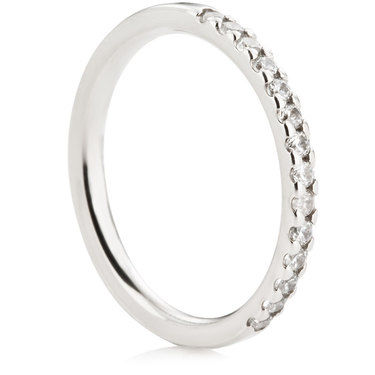 Claw Set Half Eternity Ring - 0.25ct