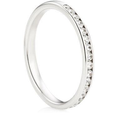 Brilliant Cut Half Eternity Ring - 0.30ct