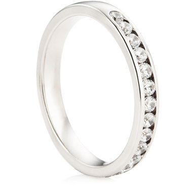 Brilliant Cut Half Eternity Ring - 0.40ct