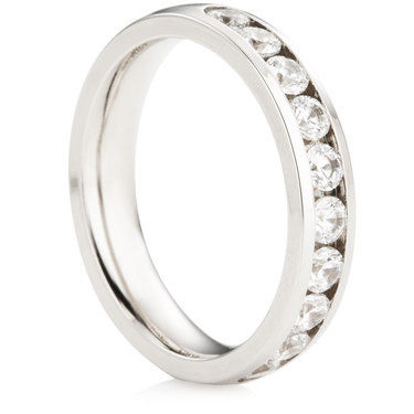 Half Eternity Ring - 0.75ct