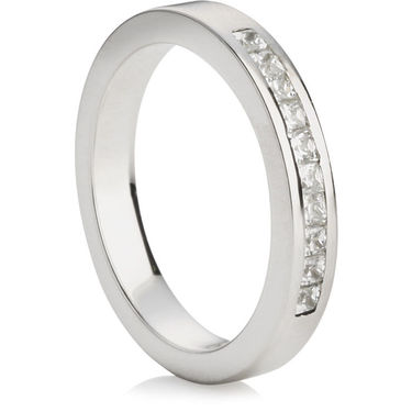 Princess Cut Half Eternity Ring (0.30ct)