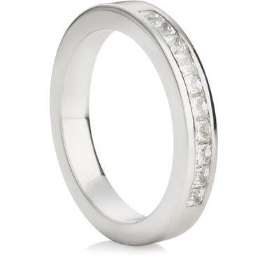 Princess Cut Half Eternity Ring (0.50ct)