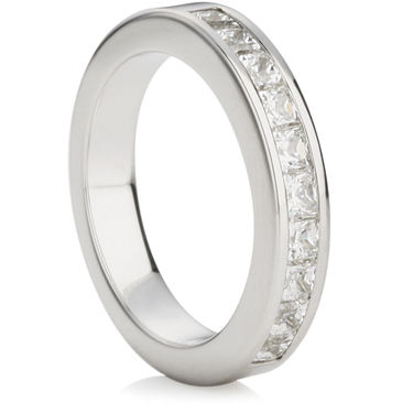 Princess Cut Half Eternity Ring (1.00ct)