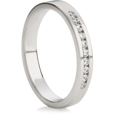 Brilliant Cut Half Eternity Ring (0.15ct)