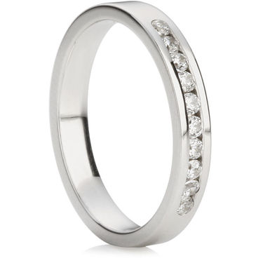 Brilliant Cut Half Eternity Ring (0.20ct)