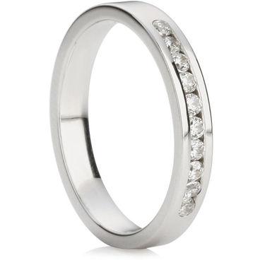 Brilliant Cut Half Eternity Ring (0.20ct)