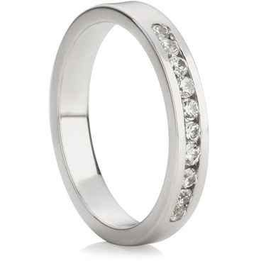 Brilliant Cut Half Eternity Ring (0.25ct)