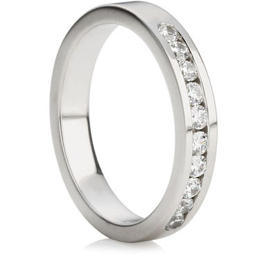 Brilliant Cut Half Eternity Ring (0.30ct)