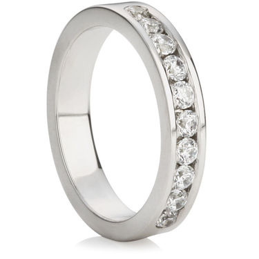 Brilliant Cut Half Eternity Ring (0.50ct)