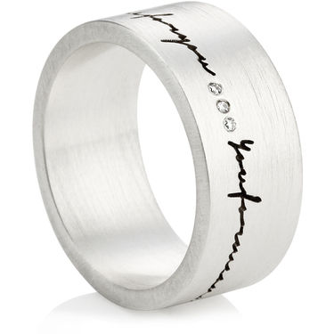 Laser Engraved Rings
