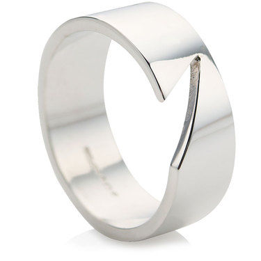 Wide Slice Ring