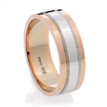 Multi Colour Wedding Ring